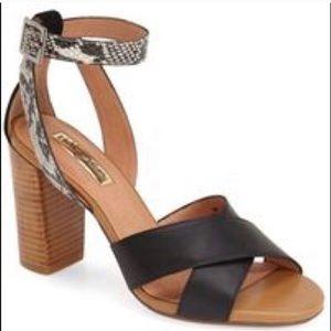 deb5cdf8431 Halogen Haley Snakeskin Platform Heel Size 6